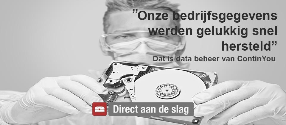 Data beheer - online - datarecovery