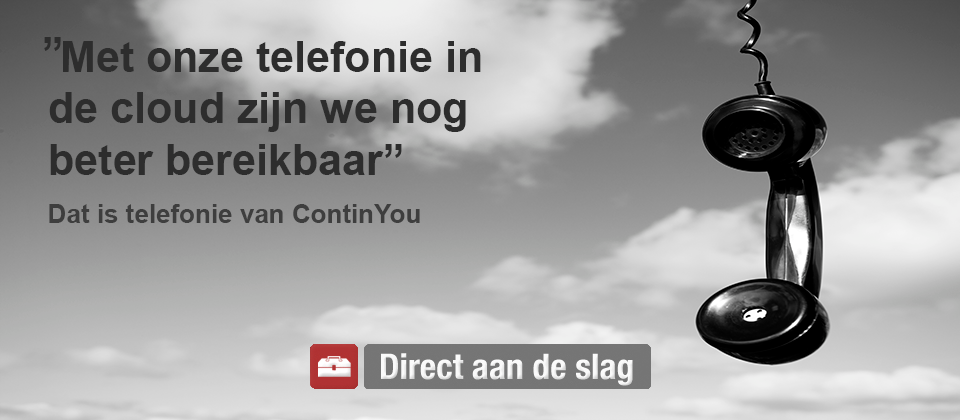 Hosted telefonie continyou